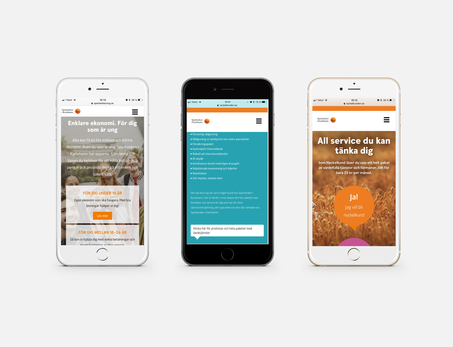 responsive iphone web